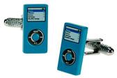 Blue Ipod Novelty Cufflinks