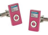 Pink Ipod Novelty cufflinks