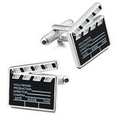 Hollywood Film / Movie Clapper Board Cufflinks