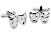 Drama Mask Cufflinks