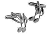 Quaver Notes Cufflinks
