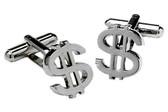Dollar Novelty cufflinks