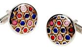 Mosaic Style Formal cufflinks