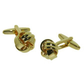 Gilt Knot cufflinks