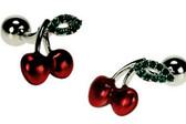Cherry Novelty Cufflinks