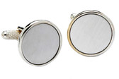 Round Formal cufflinks: perfect for personalising wth engraving, or great just as they are.