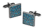 Formal Mosaic Cufflinks