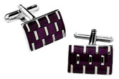 Purple Formal Cufflinks