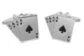 Aces Gambling Cufflinks