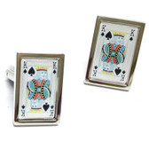 """Kings of Spades"" Cufflinks"