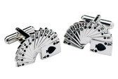 Bridge Cards Game cufflinks