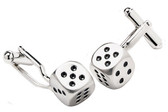Dice Games T-Bar cufflinks
