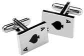 Aces Gambling cufflinks