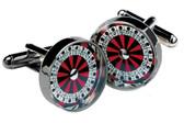 Roulette Gambling Cufflinks