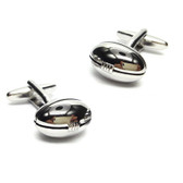 Rugby Ball Design Sports Cufflinks