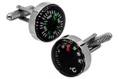 Compass cufflinks UK