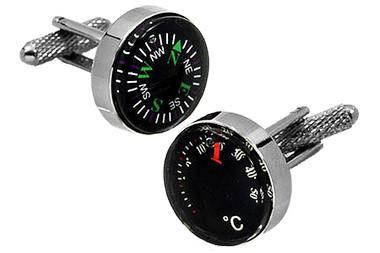 Compass cufflinks UK