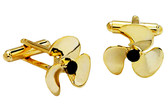 Propeller Ship cufflinks