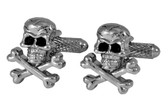 Skull Novelty Cufflinks