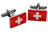 Swiss Flag Cufflinks