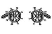 Ship Wheel cufflinks