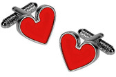 Heart Gambling cufflinks