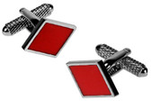 Diamonds Gambling Cufflinks