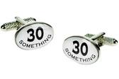 """30 Something"" Funny Cufflinks"