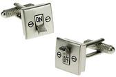 Light Switch Novelty Cufflinks