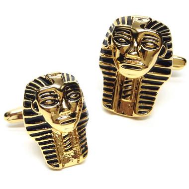 Ancient Pharaoh Design Cufflinks
