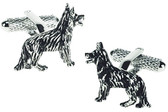 Alsatian Animal Cufflinks