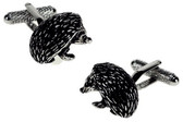 Hedgehog Animal cufflinks