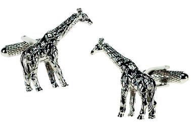 Giraffe Animal cufflinks