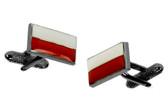 Polish Flag Cufflinks