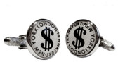 Dollar Sign Cufflinks