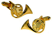 French Horn Cufflinks