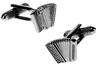 Accordion Musical instrument cufflinks
