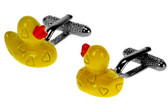 Yellow Duck cufflinks