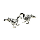 'honking' good cufflinks! Beautifully detailed geese cufflinks
