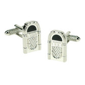Juke box cufflinks : music to your ears!