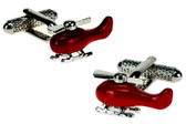 Red Chopper cufflinks