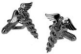 Caduceus / Wand or Staff of Hermes Cufflinks