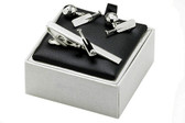 Cricket cufflinks gift set