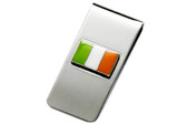 Irish Flag Chrome Money Clip