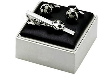 Football cufflinks set