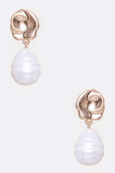 Jody Pearl Drop Dangle Earrings