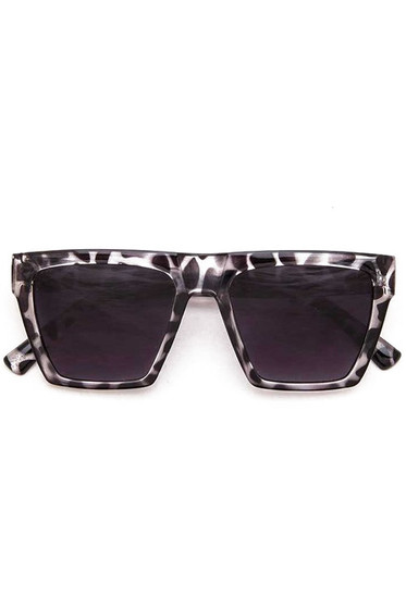 Sellie Grey Square Iconic Sunglasses