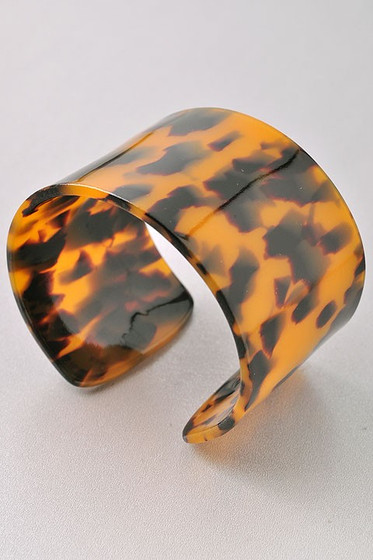 Godin Brown Tortoise Cuff Bracelet