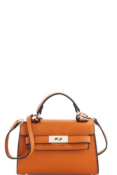 Carolyn Tan Mini Satchel Bag