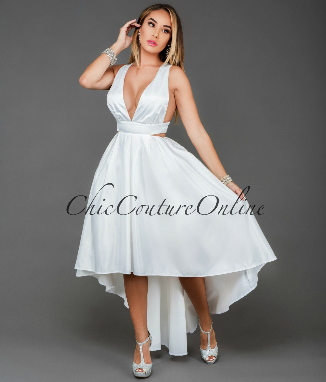 to wear - High white low dresses video